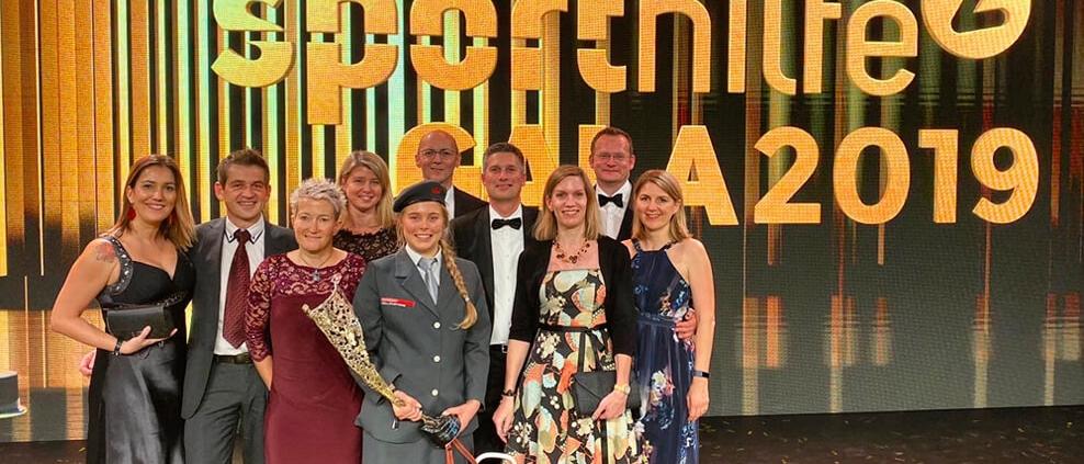 Lotterien Sporthilfe Gala 2019, Foto: privat