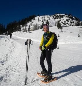 Yvonne Marzinke Schneeschuhtour Katrin Bad Ischl