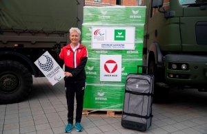 Yvonne Marzinke, Einkleidung Bundesheer (c) ÖPC Vesely