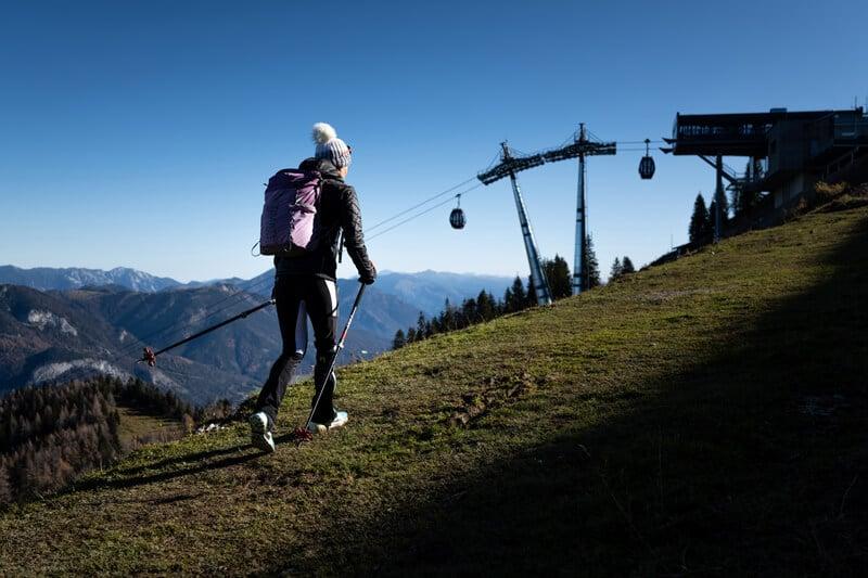 Yvonne Marzinke wandert am Zwölfernhorn