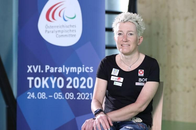 Yvonne Marzinke beim Interview