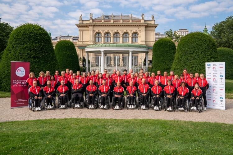 Verabschiedung Paralympics Team