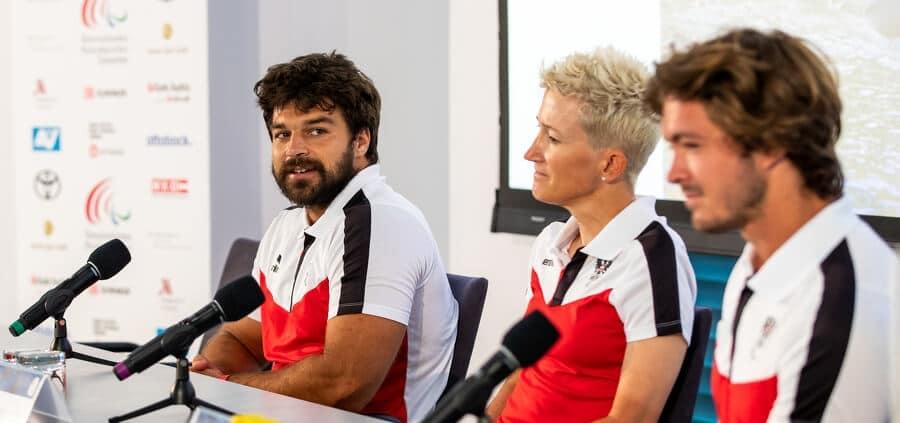 Pressekonferenz Paralympics Tokio 2020