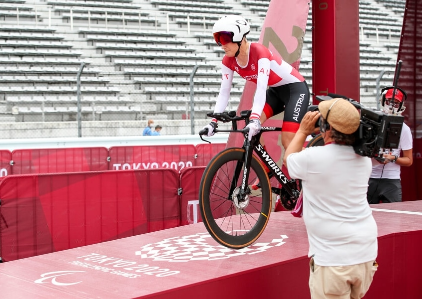 Yvonne Marzinke Paralympics Tokio Einzelzeitfahren Fuji International Speedway